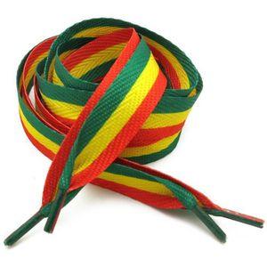 LACET  Lacet Rasta Reggae Afrique Paire 110x1,8cm Marley