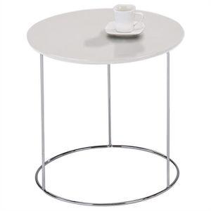 TABLE D'APPOINT Table d'appoint FIDELIUS table basse ronde bout de