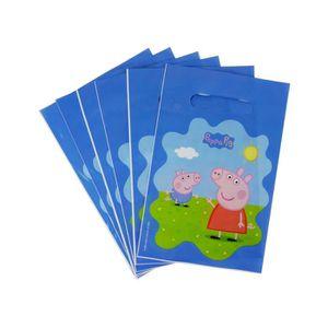 REPOSE SACHET DE THÉ Lot de 6 Sachet Surprise Peppa Pig Bleu - Sac Cade