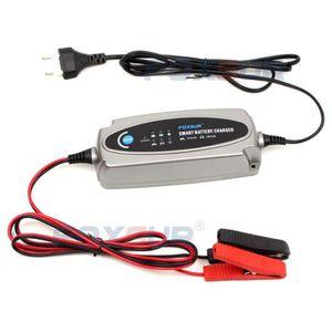 CHARGEUR DE BATTERIE 12V automatique chargeur intelligent batterie char