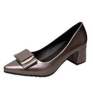 Escarpin Escarpins à bout rond plat talon bas simples Chaussures Comfy femmes 5179672 7HMlFB0Ie
