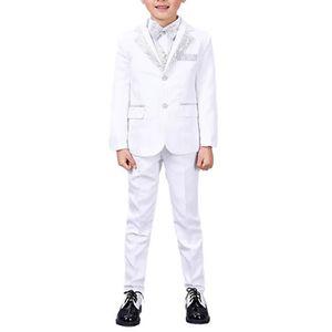 COSTUME - TAILLEUR Costume de mariage soirée pour garçons costume 6 p