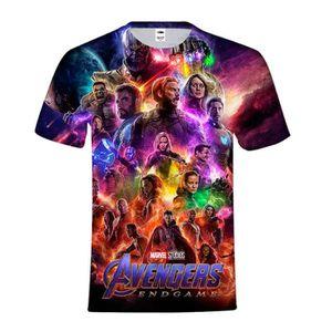 4e3d0cbab32c1 T-SHIRT Avengers 4: Endgame T-shirt enfant imprimé à col r