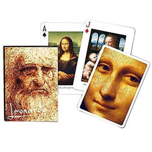 PORTE CARTE Piatnik 1657 - Cartes à Jouer - Leonardo Da Vinci