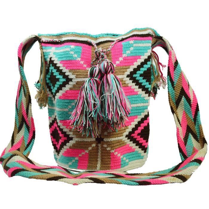 Wayuu Sac - Grand Mochila - Design - 1198 YO54K
