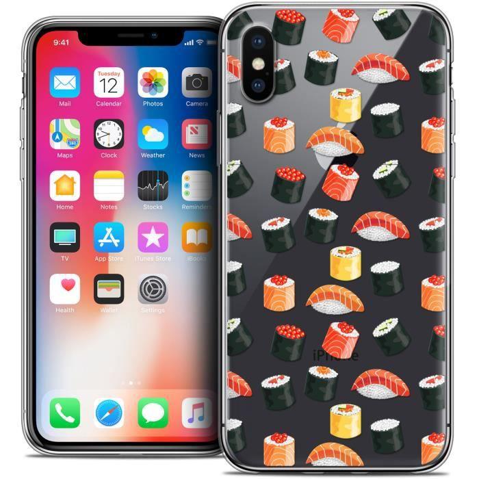 coque iphone x sushi