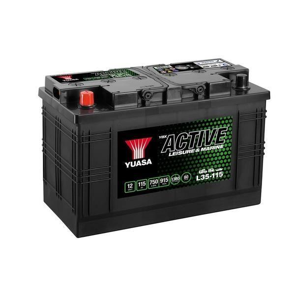 BATTERIE VÉHICULE YUASA Leisure Batterie pour Auto SUV 12V 115Ah 750