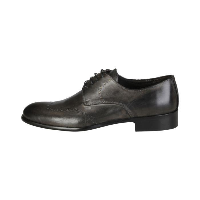 Made in Italia - Chaussures à lacet pour homme (ELIO_GRIGIO) - Gris