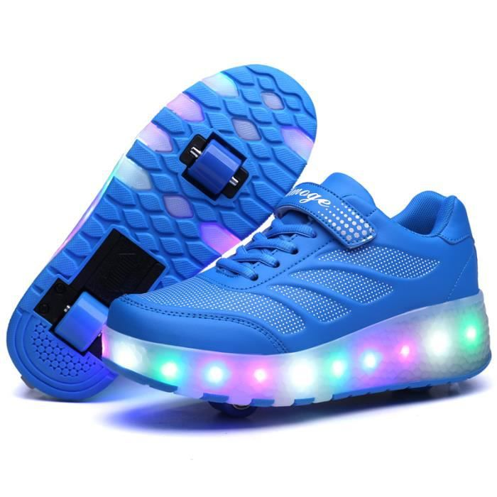 Enfants Chaussures Heelys par des lumières led IVK6Wl5Kyx