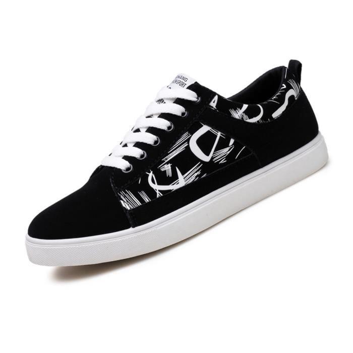 Sneakers Homme Classique Extravagant Mode Chaussure De Skate Léger Durable Respirant Sneaker Haut qualité Plus Taille 39-44 0ShCn