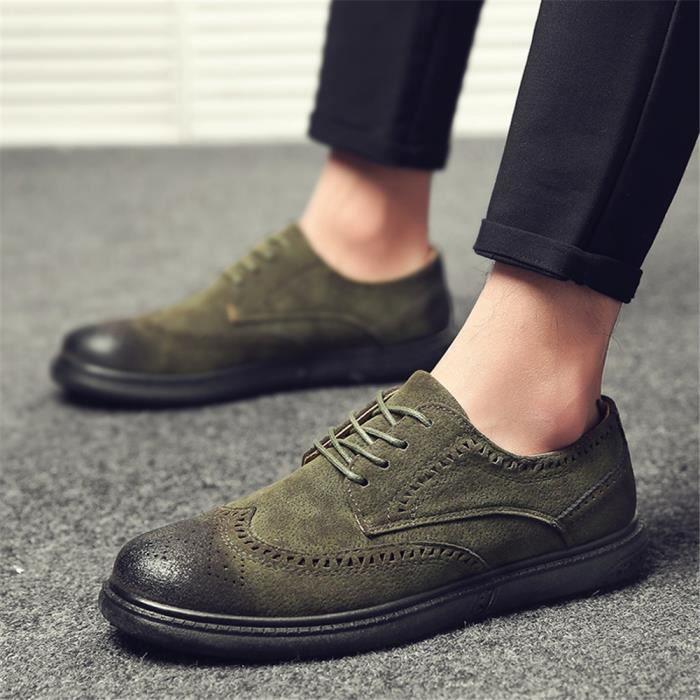 Plus Couleur gris Sneaker De Anti 44 Chaussure glissement vert Marron 39 Arrivee Nouvelle Homme Personnalité q0WOnAAzg