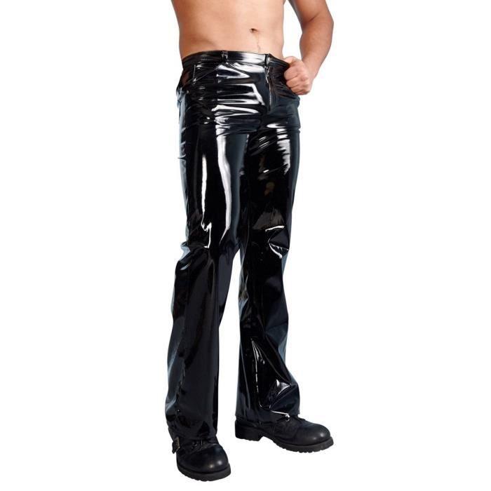 cuir Vétements Pantalon Vétements cuir Pantalon Homme Homme qVpGjzULSM