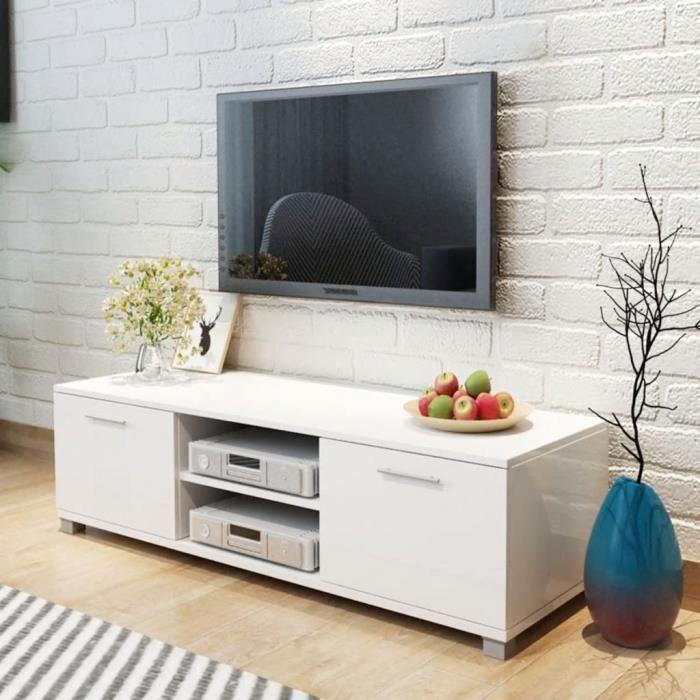 Meuble Tv Meuble Salon Armoire Bas Scandinave Décor Contemporain