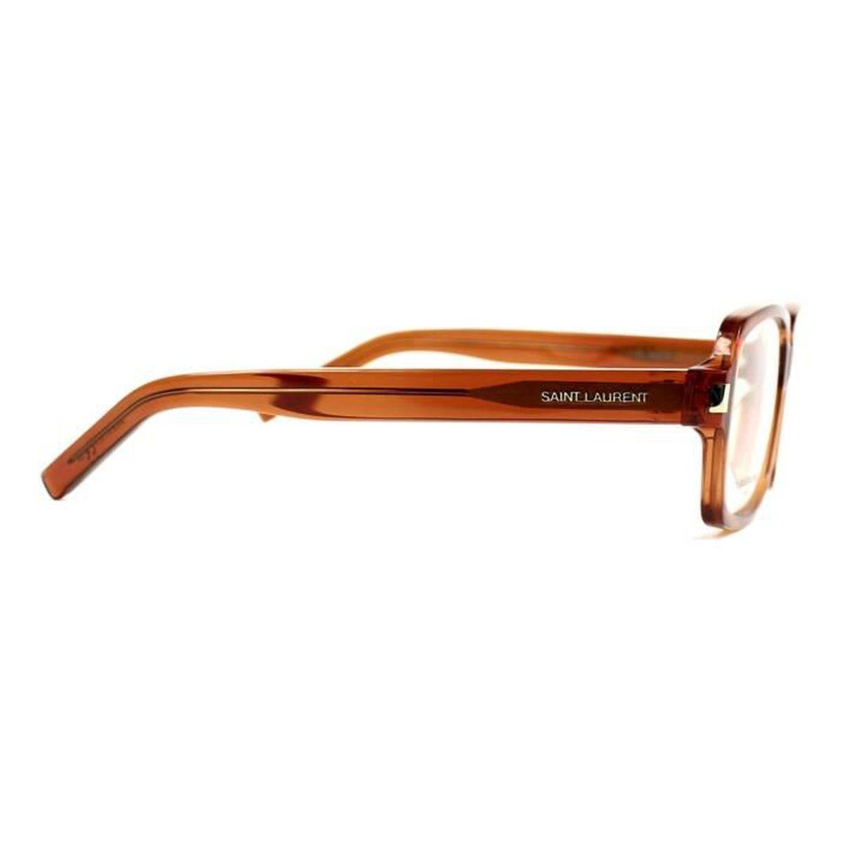 Lunettes de vue Yves Saint Laurent SL66-F -A5W Marron transparent - Achat    Vente lunettes de vue Lunettes de vue Yves Saint Homme Adulte Marron -  Cdiscoun 23ce03341fce