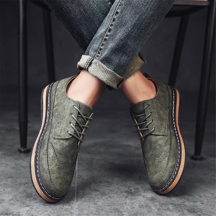 Hommes Chaussures marque de luxe luxury sneaker Haut qualité Chaussures de sport Confortable Sneaker Antidérapant Plus Taille 39-44 d0CDsLJ