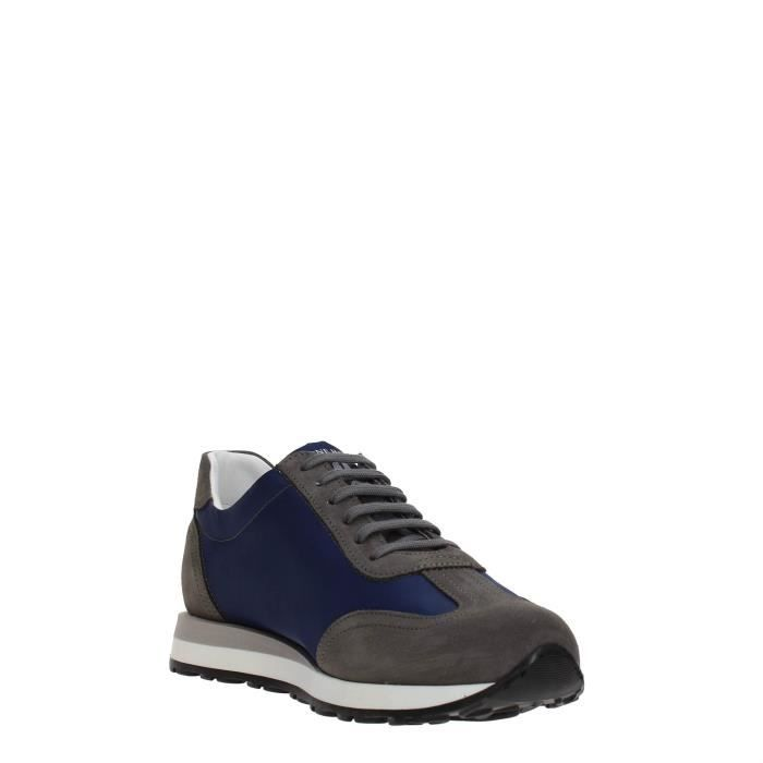 Soldini Sneakers Homme BLUE/WHITE, 44