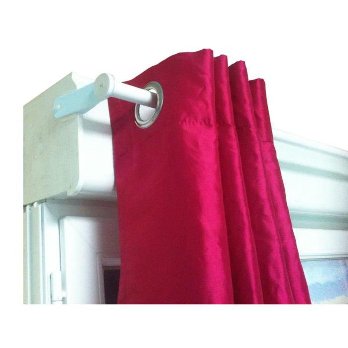x 39 press kit tringle rideau sp cial caisson d16 d19mm blanc achat vente tringle a rideau. Black Bedroom Furniture Sets. Home Design Ideas