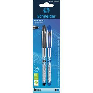 Stylo - Parure SCHNEIDER Lot de 2 stylos à bille Slider Basic XB