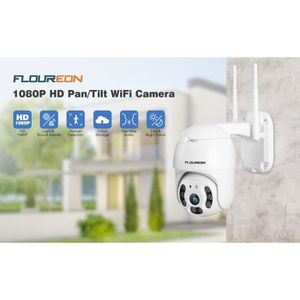 CAMÉRA IP Caméra IP FLOUREON 720P H.264 Wifi Sans Fil ONVIF