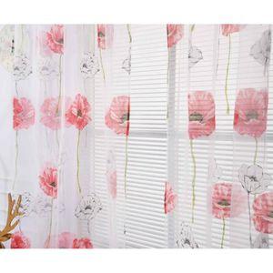 RIDEAU yumyumis® fenêtre Mode rideaux couleur unie   ré_c