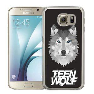 COQUE - BUMPER Coque Samsung Galaxy S4 Mini Teen Wolf Loup Origam
