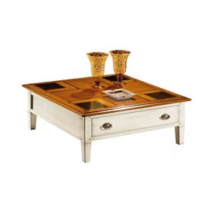 table basse carree laquee blanc achat vente table. Black Bedroom Furniture Sets. Home Design Ideas