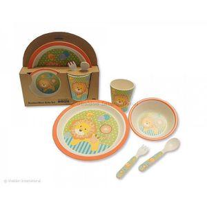 ASSIETTE - PLATEAU BÉBÉ Nursery Time - Coffret Repas Bébé en bambou