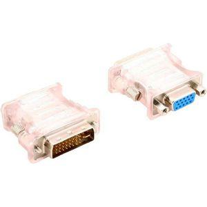 CÂBLE RÉSEAU  Adaptateur Convertisseur DVI-D 24+1 Pins Mâle vers