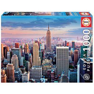 PUZZLE EDUCA - Puzzle 1000 pièces - Midtown Manhattan, Ne