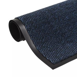 PAILLASSON T-Shell Paillasson rectangulaire 120 x 180 cm Bleu