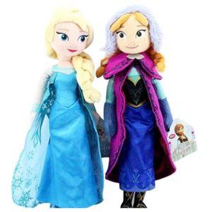 POUPÉE Demarkt 2 poupées Princesses ELSA et ANNA Reine de