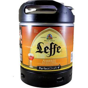 BIÈRE Fut bière Perfectdraft  6L Leffe Ambrée (dont 5€ r