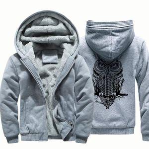 Pull D'hiver Pour Sweat Zipper Capuche Hommes À En Polaire Chaud wxUqCpHx