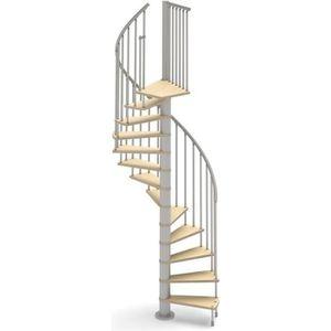 ESCALIER Escalier colimaçon 12 marches + 1 palier - Diamètr