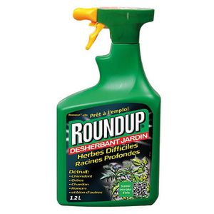 DÉSHERBANT - HERBICIDE Roundup - désherbant herbes difficiles pulvérisate