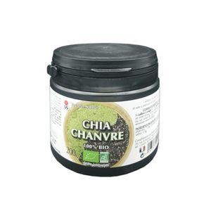 TONUS - VITALITÉ Chanvre En Poudre & Graines De Chia Bio - 200g - V
