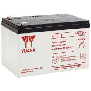 BATTERIE DOMOTIQUE Batterie plomb 12V 12 Ah Yuasa gamme NP