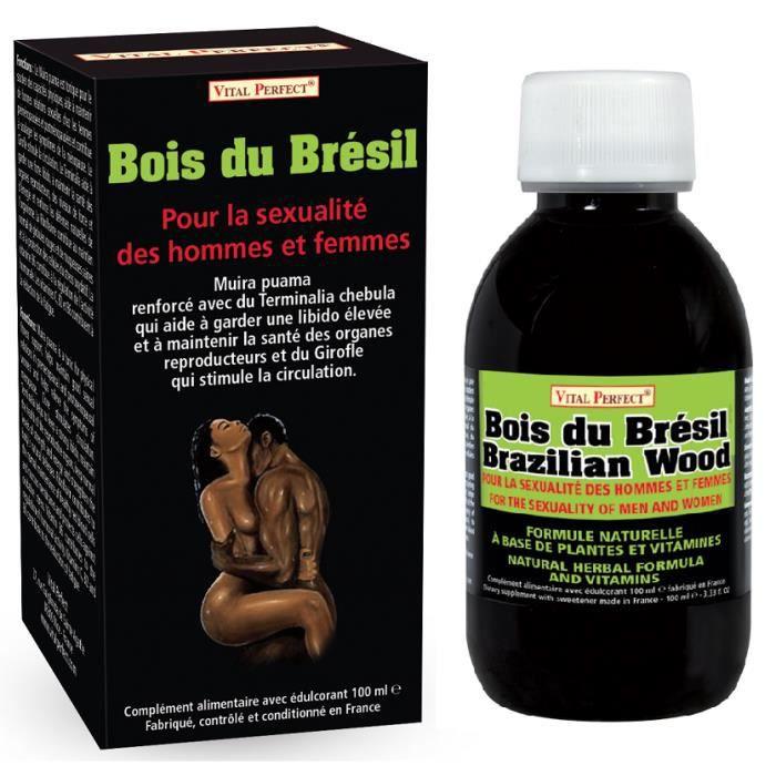 Bois du Brésil pour sexualité hommes et femmes