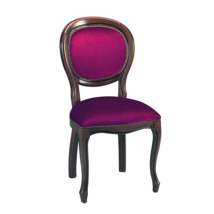Chaise mdaillon maison du monde myfurniture x chaise de salle manger style louis en chne crus - Chaise rose maison du monde ...