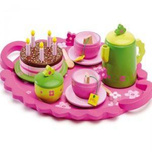 Goûter d'anniversaire en bois Djeco - Achat / Vente dinette ...