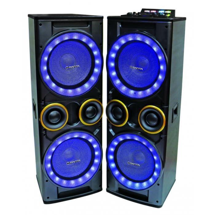 HAUT PARLEUR VOITURE Le volume ?? haut-parleurs MANTA SPK95008 Seraphin