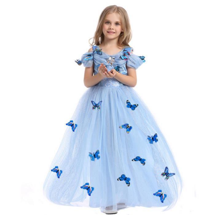 f5ee78eb492 Noël Disney Cendrillon robe de princesse vêtements pour enfants ...
