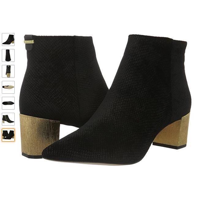 Calvin Klein NARLA - Boots à talons argenté 9y3IomB9w2