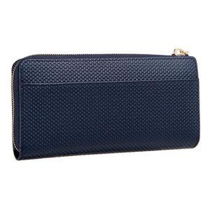 c3b6bb3555 ... PORTEFEUILLE LACOSTE Portefeuille zippe NF2071CE Bleu Femme. ‹›