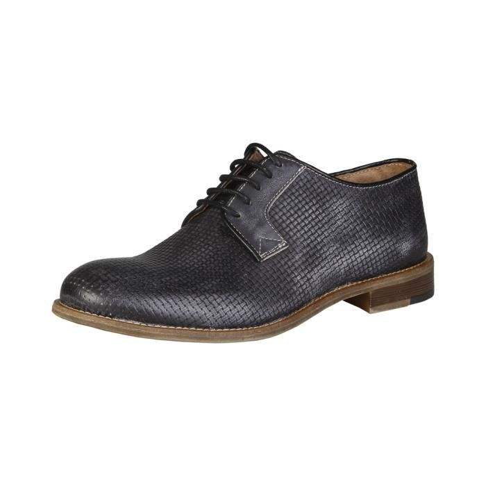 Made in Italia - Chaussures à lacet pour homme (LEANDRO_FUMO) - Gris