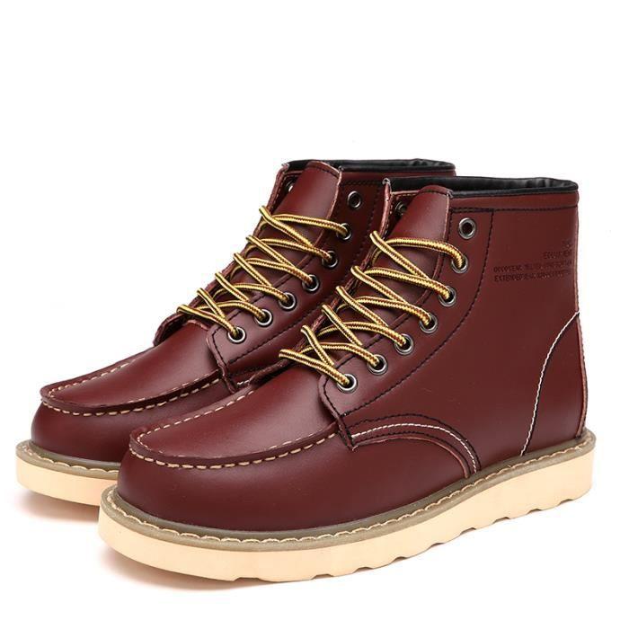 Homme Chaussures Bottes courtes Bottes de neige épaissies