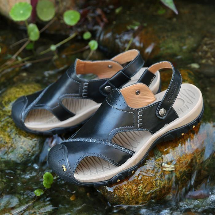 Sandales homme chaussure de bain Chaussures d'eau Chaussures de plage Chaussures pour activités aquatiques