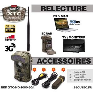 Camera gsm chasse achat vente pas cher cdiscount - Camera chasse gsm ...