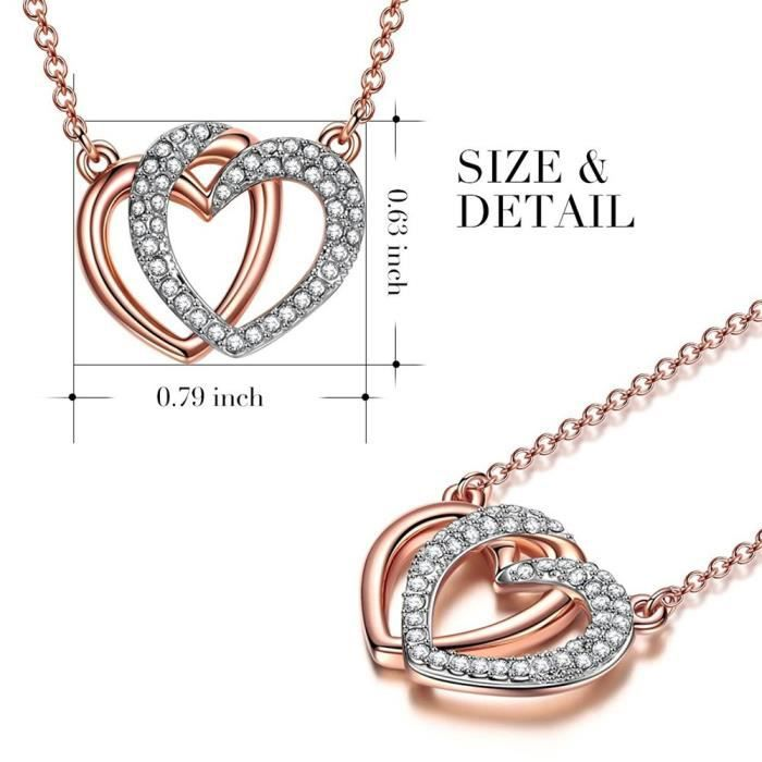 Womens Limited Edition Swiss Aaa American Diamond Delicate Double Love Heart Shape Magnificent Pen YKT2Y