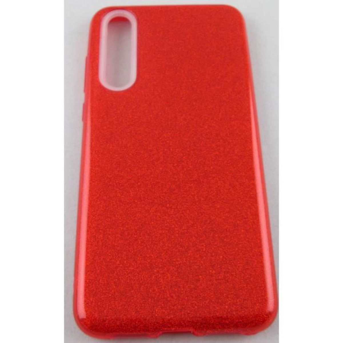 coque huawei p20 pro silicone souple rouge